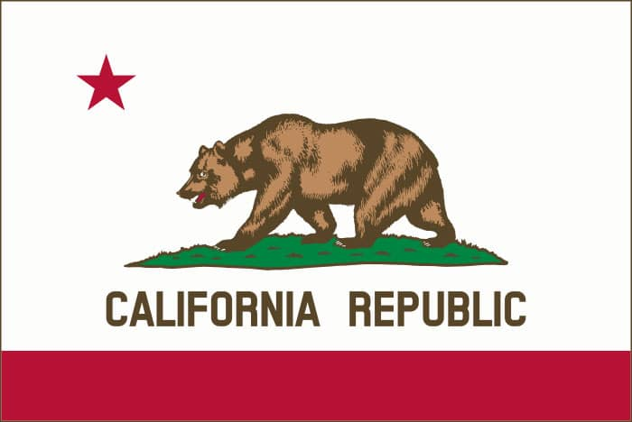 California State Flag | TTR Data Recovery