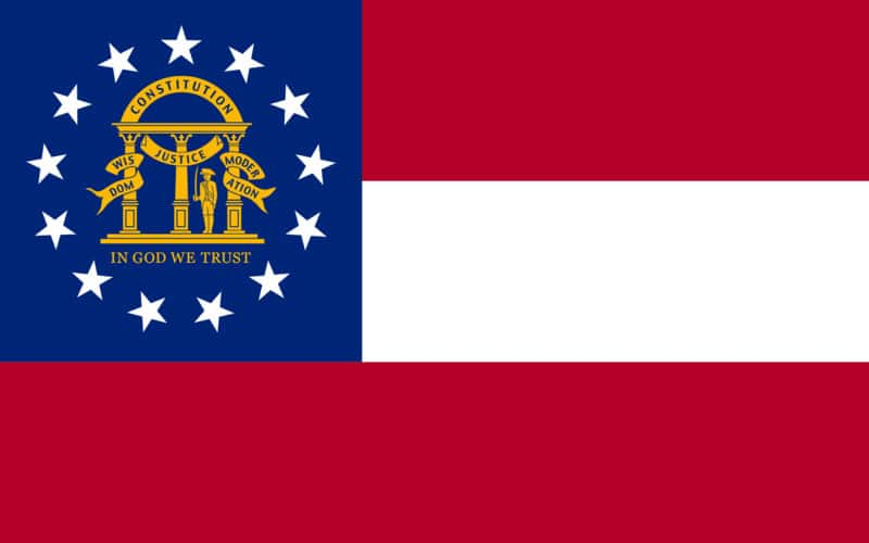 Georgia State Flag | TTR Data Recovery