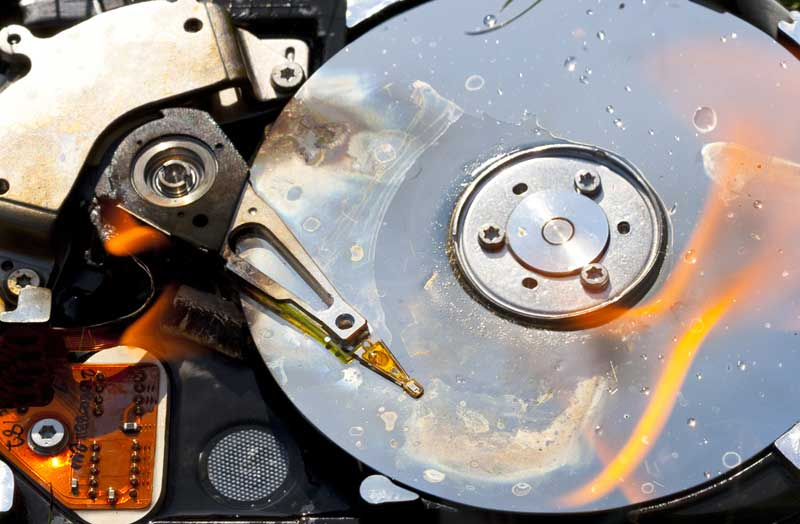 Hard Drive Failure | TTR Data Recovery