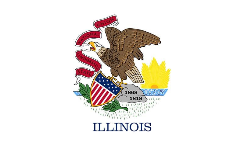 Illinois State Flag | TTR Data Recovery
