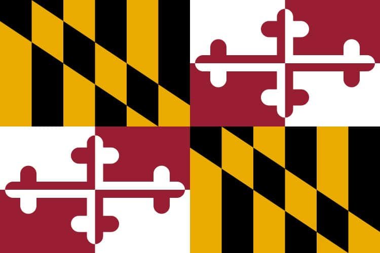 Maryland State Flag | TTR Data Recovery
