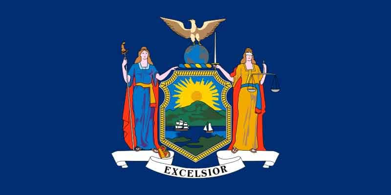 New York State Flag | TTR Data Recovery