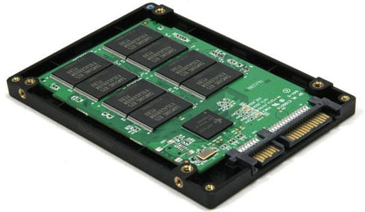 Parts of Solid State Drive