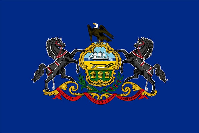 Pennsylvania State Flag | TTR Data Recovery