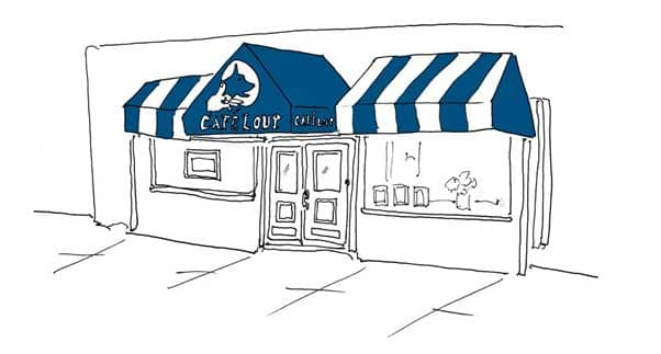Cafe Lout Sketch
