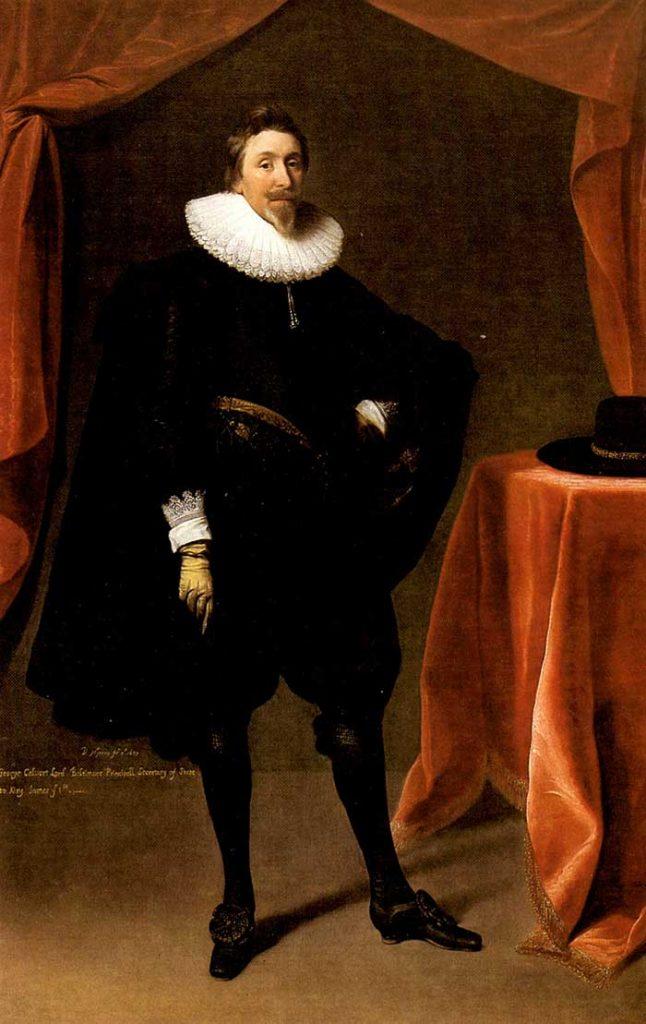 George Calvert 1st Owner Of Maryland