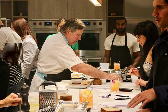 Kitchen Class With Norman Van Aiken