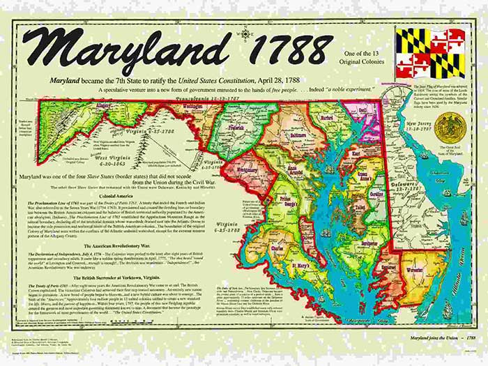 Maryland Part Of 13 Colonies