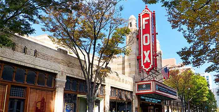 Fox Theatre Front