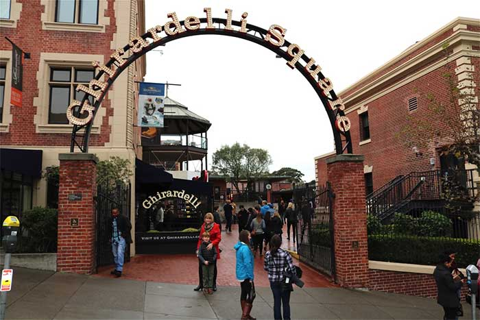 Ghirardelli Square Kid Friendly