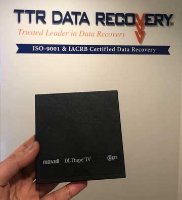 Ttr Tape Data Recovery