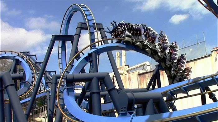 Batman Ride Six Flags