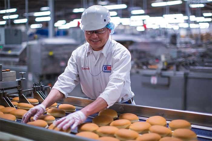 Bimbo Bakeries Production
