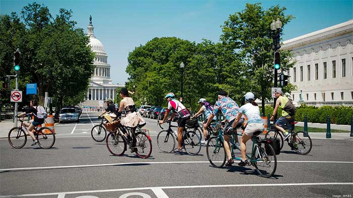District Of Columbia Bicycle Area