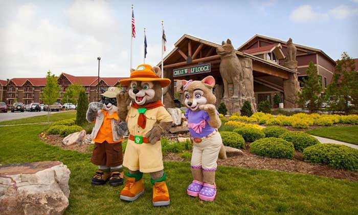 Pocono Mountains The Great Wolf Lodge