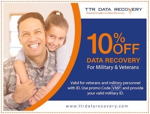 Military Coupon Data Recovery | Ttr Data Recovery Services