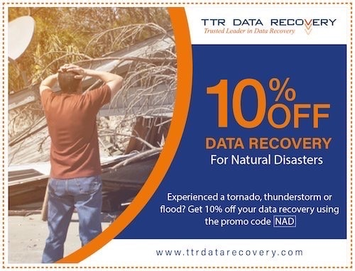Natural Disaster Coupon Data Recovery | Ttr Data Recovery Services