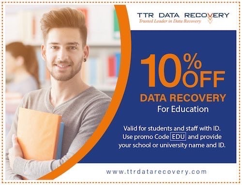 Studen Discount Coupon Data Recovery | Ttr Data Recovery Services