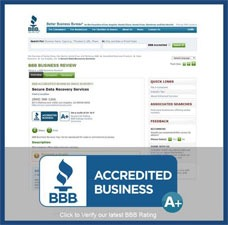 Bbb Accredited Business Home | Ttr Data Recovery