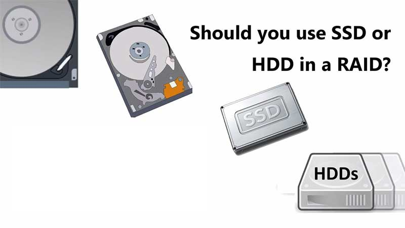 Which one is better - HDD or SSD RAID 1 | TTR Data Recovery
