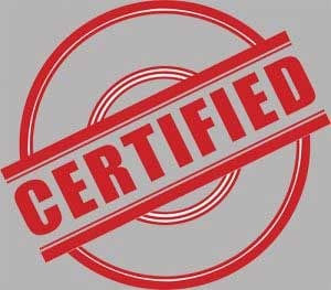 Certification | Ttr Data Recovery