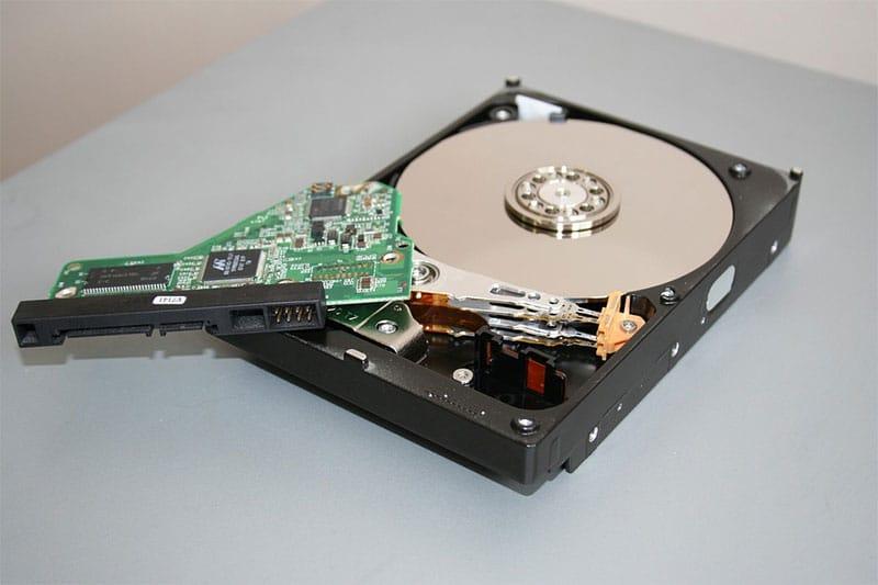 Internal Mechanics Of A Hard Disk Drive